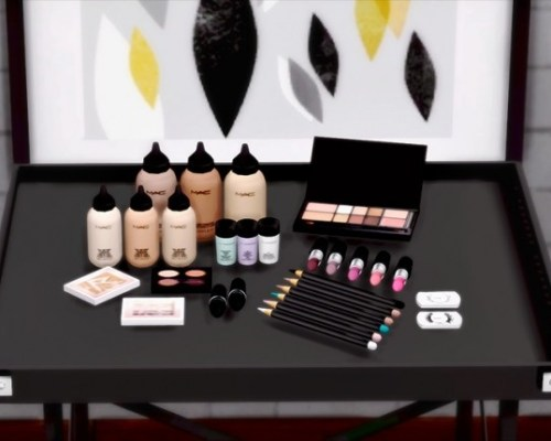 Yayasimblr MAC Makeup Set (s3 to s4)
