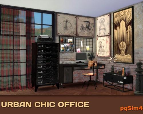 Urban Chic Office by Mary Jiménez