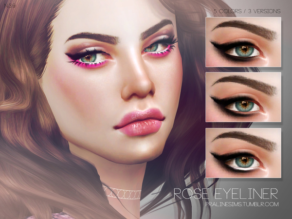 Rose Eyeliner N39 By Pralinesims