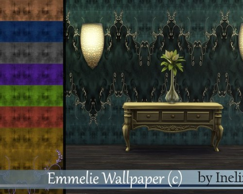 Emmelie Wallpaper by Ineliz