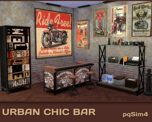 Urban Chic Bar by Mary Jiménez