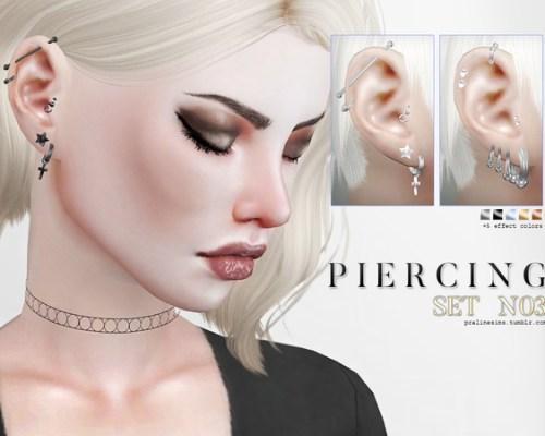 Piercing Set N03 by Pralinesims
