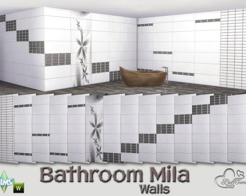 Mila Bathroom Tiles by BuffSumm