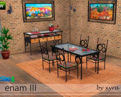 Enam III dinningroom set by xyra33