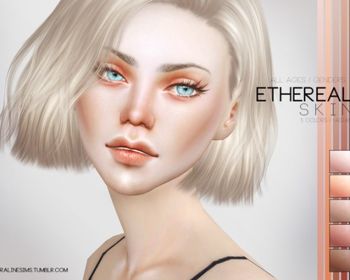 Ethereal Skin by Pralinesims
