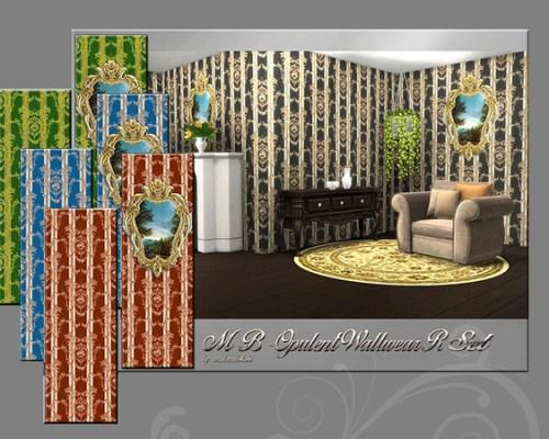 MB Opulent Wallwear R Set by matomibotaki