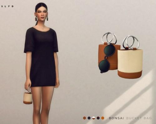 Bonsai Bucket Bag by SLYD