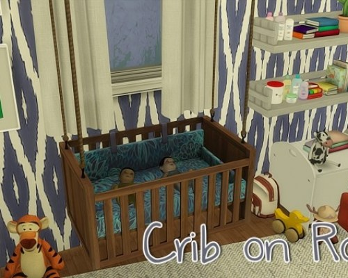 Crib on Ropes by driana