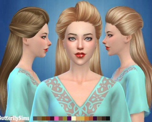 ButterflySims hair af 179 No hat by YOYO (Free)