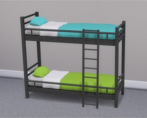 Hipster Loft Bunk Bed & Mattresses for Bunk Beds