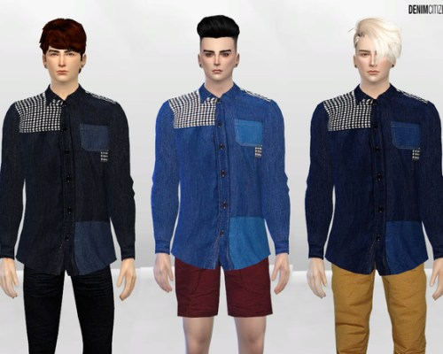 Tiled Show Button-Up Shirt by McLayneSims