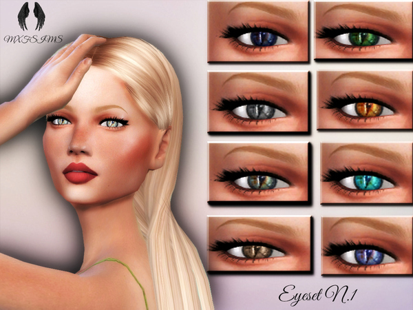 Eyeset Nr.1 By Mxfsims