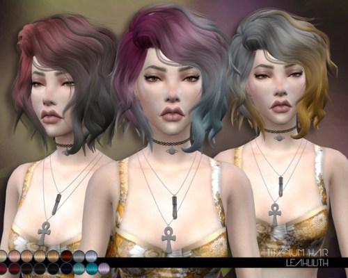 Titanium Hair by LeahLillith