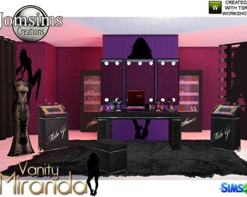 Miranda vanity beauty set by jomsims