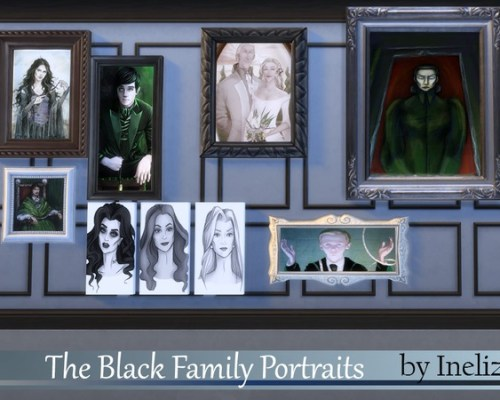 The Black Family Portraits by Ineliz