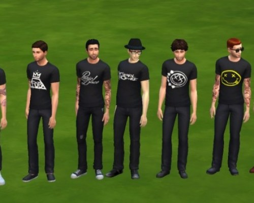 Band Shirts by KaraStars