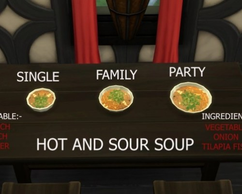 Hot and Sour Soup Custom Food by icemunmun