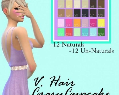 Crazycupcake V.Hair Recolor by Lovelysimmer100
