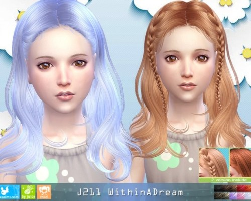 J211 WithinADream child hair (Pay)