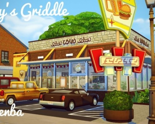 Goldy's Griddle retro roadside diner