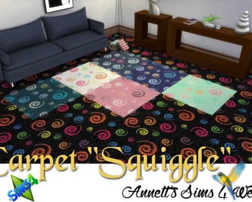 Squiggle Carpet