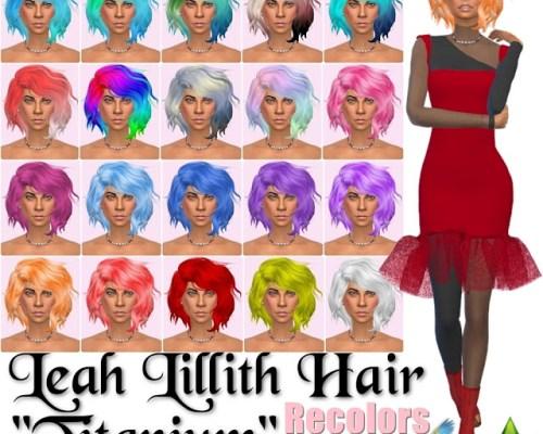 Leah Lillith Hair Titanium Recolors