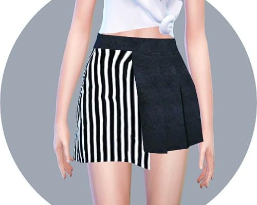 Half Pleats Skirt