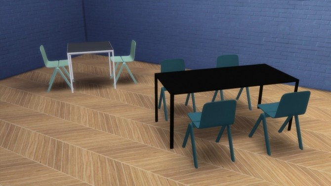 New Order Table And Copenhague Chair (Pay)
