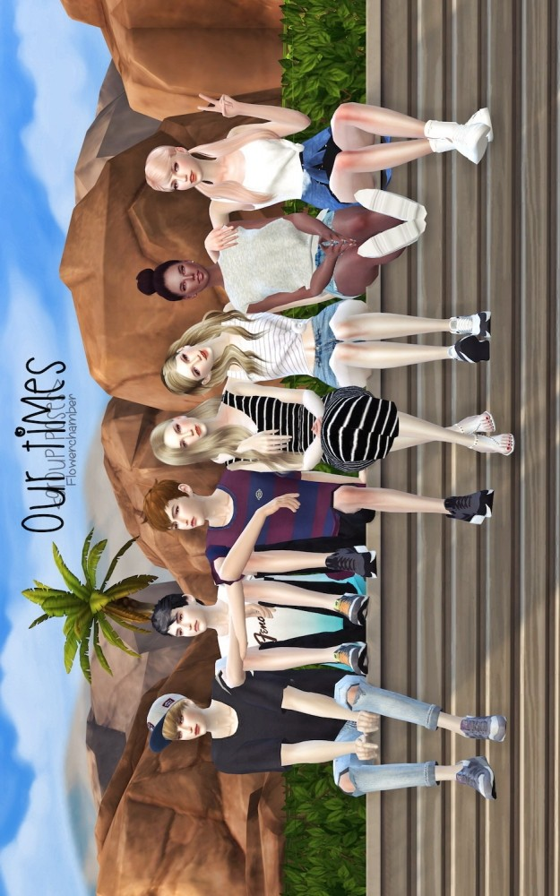 GP OUR TIMES 7 Poses