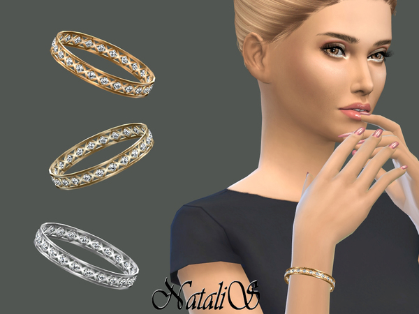 Cage And Crystals Bracelet By NataliS