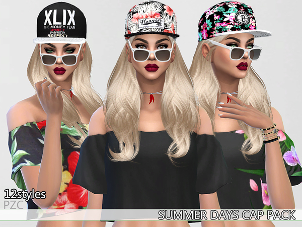 Summer Days Cap Pack By Pinkzombiecupcakes