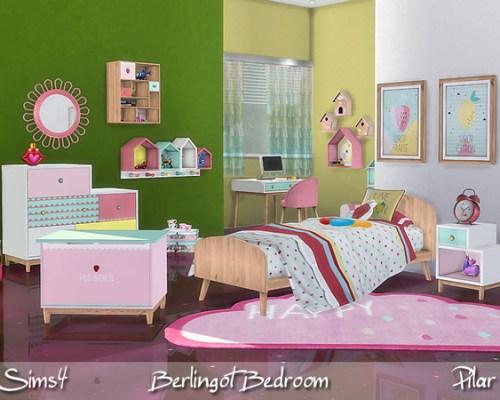 Berlingot Bedroom by Pilar