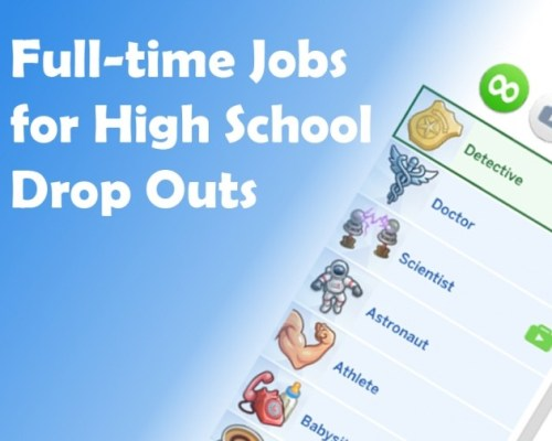 Drop Out of High School and Get a Real Job by telford