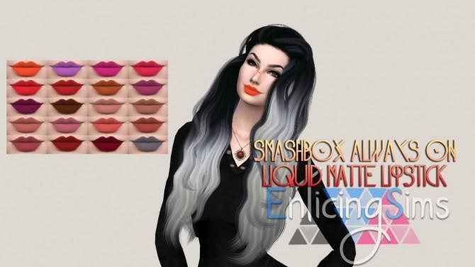 Liquid Matte Lipstick By EnticingSims