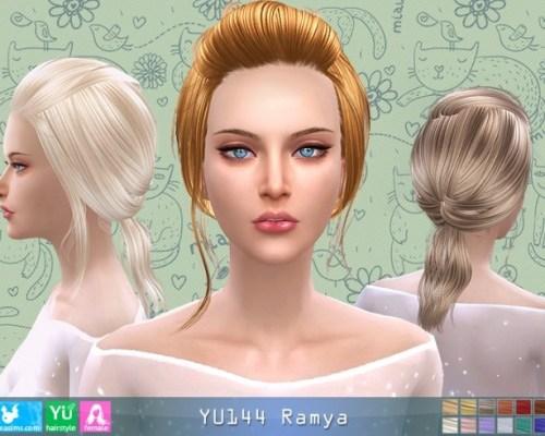 YU144 Ramya hair (Pay)