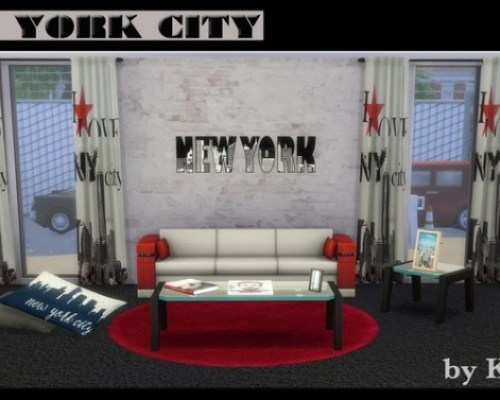NEW-YORK City set