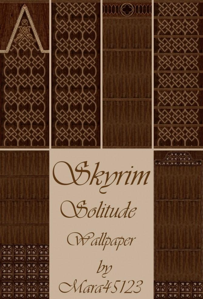 Skyrim Solitude Wallpaper