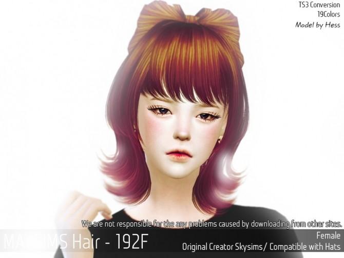Hair 192F (Skysims)