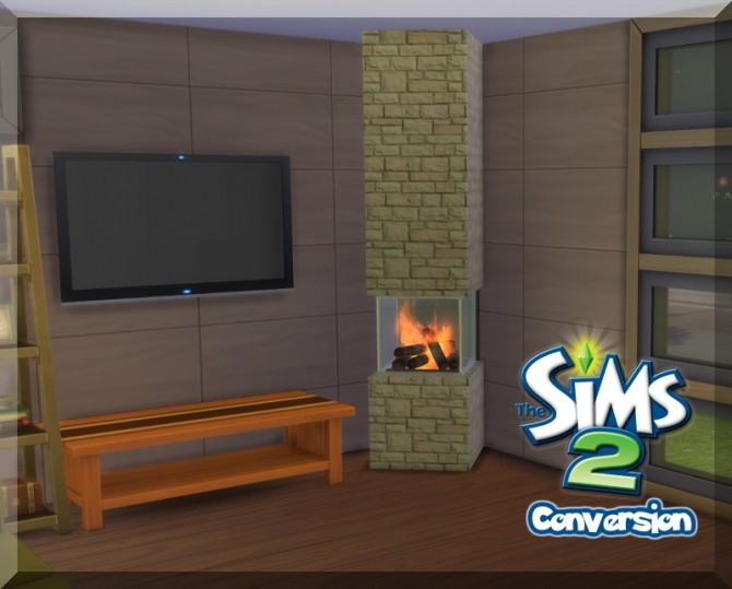 Incognito Fireplace From The Sims 2