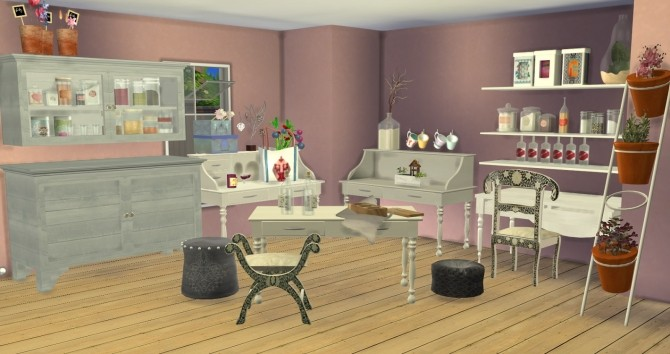 Steffor For TS4 Set By Ilona