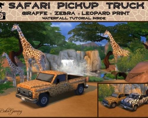 Safari Pickup Truck by Bakie
