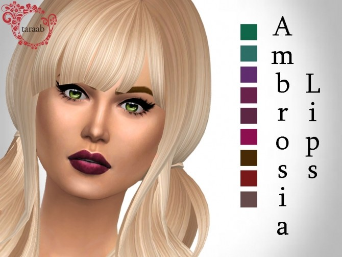 Ambrosia Lips By TaraBleek