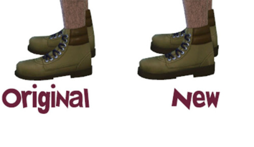 Male Outdoor Boots Edited