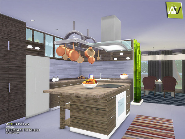 Euroface Kitchen By ArtVitalex
