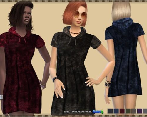 Velvet Dress & Hood