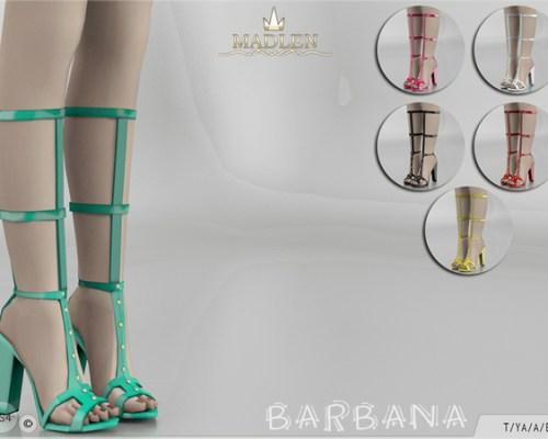 Madlen Barbana Shoes (Longer version) by MJ95