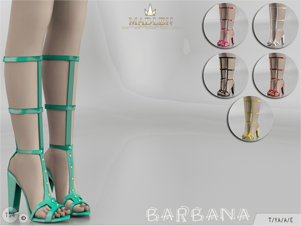 Madlen Barbana Shoes (Longer Version) By MJ95