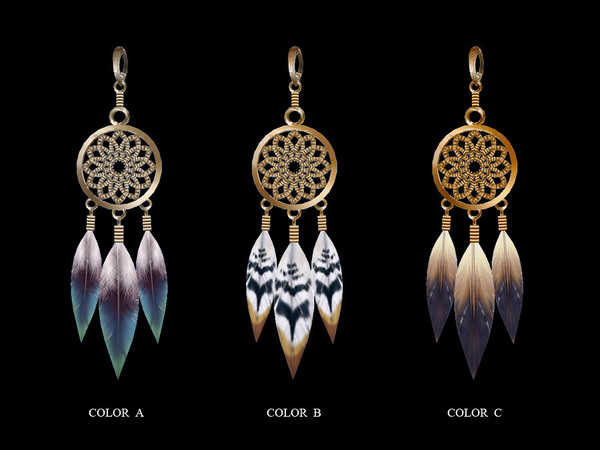 Earrings 20(f) By S-Club LL