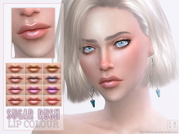 Sugar Rush Candy Lipstick By Screaming Mustard