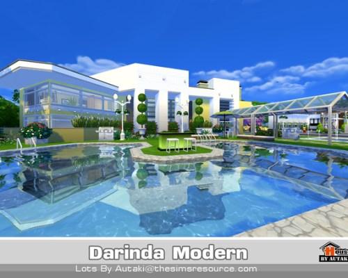 Darinda Modern house by autaki
